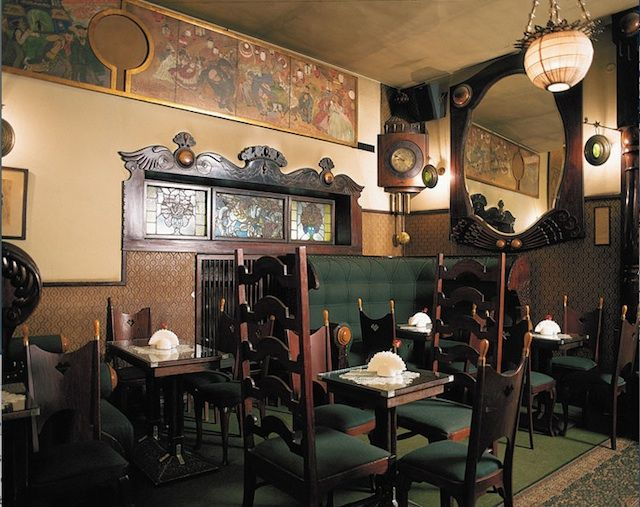 15 of the best historic cafes in Europe. Historic cafe Krakow