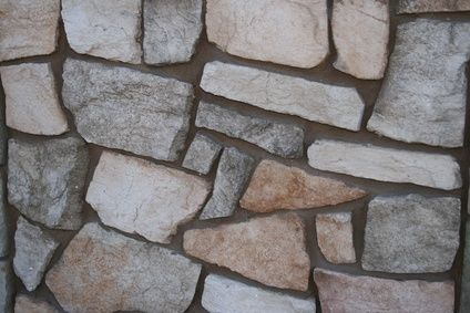 I would personally choose a different rock from the picture, but this makes having a home with beautiful rock walls a possibility. Check out the easy steps!