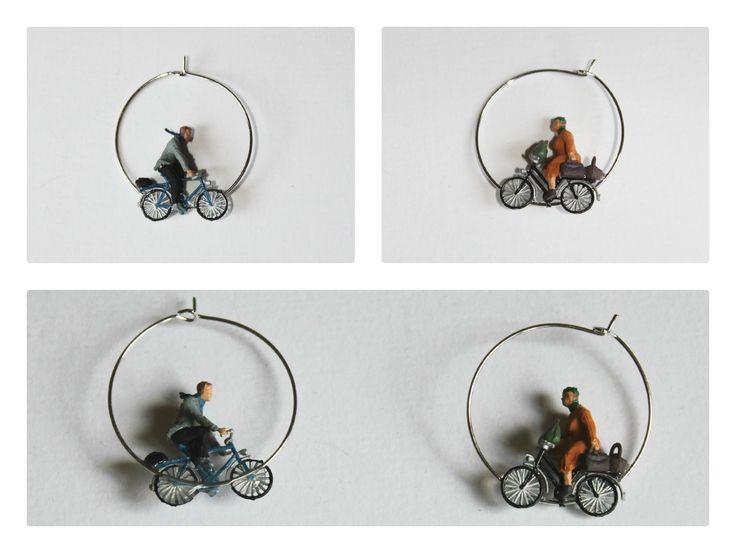 En bici, en vespa o en moto