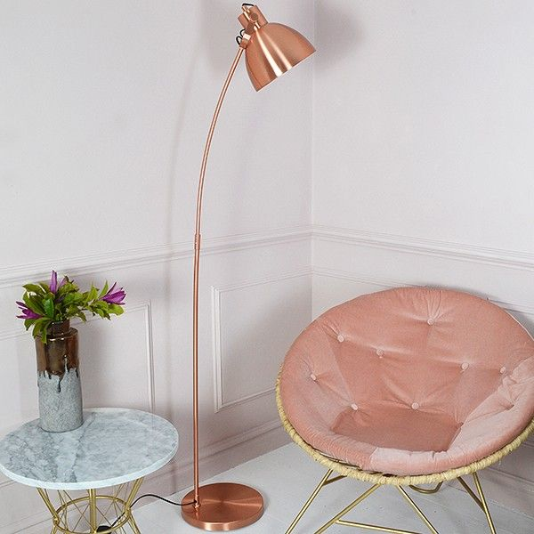 Copper Floor Lamp - available from MiaFleur
