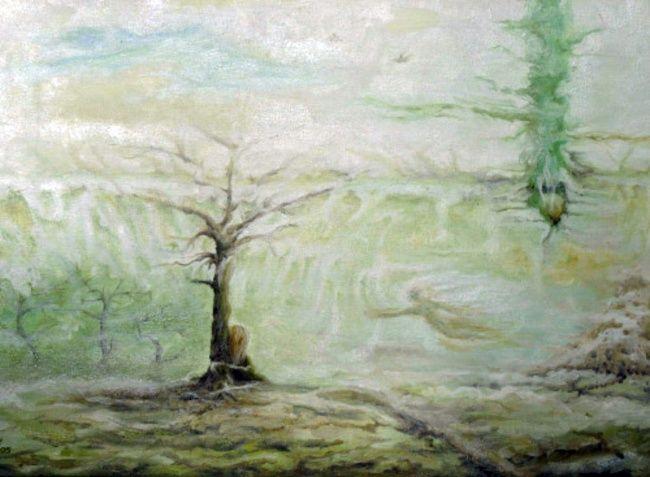 Landschaftsmalerei surrealismus  Die besten 25+ Fantasielandschaft Ideen auf Pinterest ...