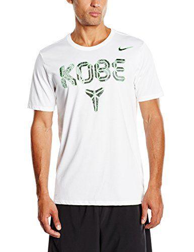 NIKE Nike Mens Kobe Pattern Dri-Fit Basketball T-Shirt White Mamba. #nike #cloth #
