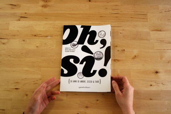 """Oh sì! · Oh yes!"" #01 __ Design: Michela Monterosso __ #inspiration #creativity #concept #art #art_direction #grid #layout #design #layout_design #graphic #graphic_layout #graphic_design #editorial #editorial_layout #editorial_design #book #book_layout #book_design #print #print_layout #print_design #typography #photography #michela_monterosso #oh_si #oh_yes_book #behance"