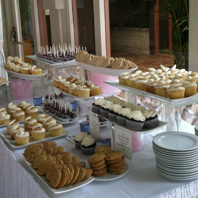 Small Desserts For Weddings: 1000+ Images About Dessert Table Scapes On Pinterest