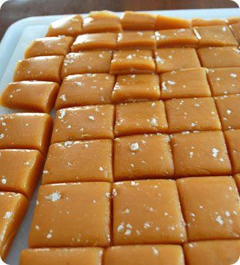 home made Caramels