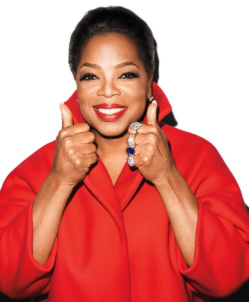 Oprah shot by Terry Richardson for Bazaar