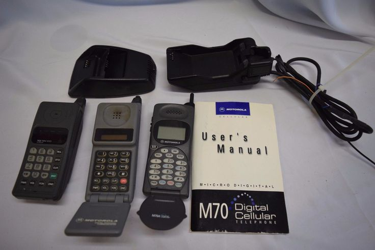 nice Vintage Motorola cell phone lot of 3 Tele Tac 200 M70 MicroTac with accessories   Check more at http://harmonisproduction.com/vintage-motorola-cell-phone-lot-of-3-tele-tac-200-m70-microtac-with-accessories/