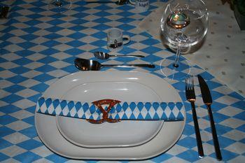 Tischdekoration Deutschland Bayern Oktoberfest Tischdeko 2