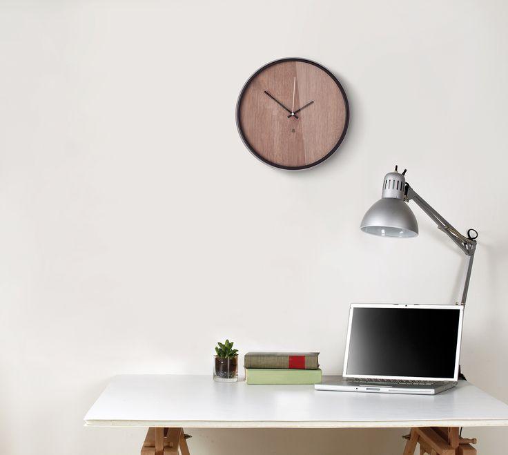 MADERA wall clock by Alan Wisniewski