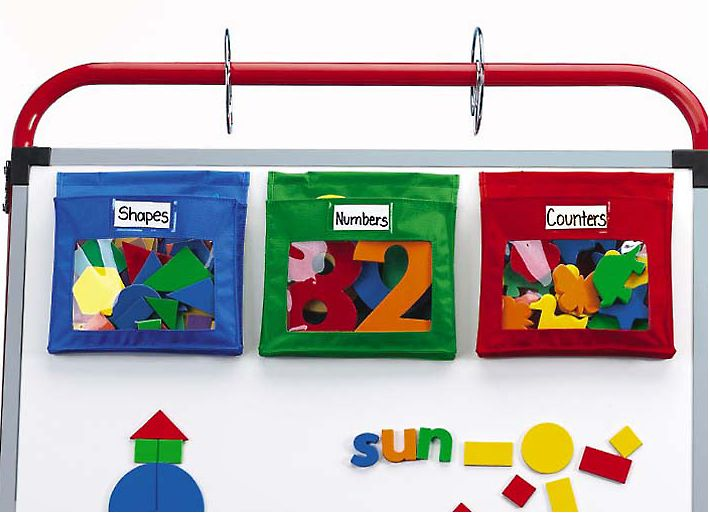 Lakeshore Classroom Decor ~ Backtoschool magnetic pockets set of at lakeshore