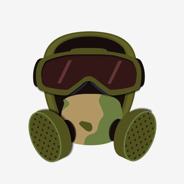 Camouflage Mask Military Illustration Camouflage Mask Gas Mask Military Supplies Illustration Png And Vector With Transparent Background For Free Download Military Illustration Camouflage Gas Mask