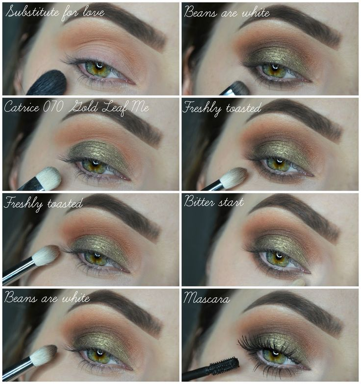 NIKOL HESS : Tutorial: Warm Green Smokey Eyes with Zoeva Cocoa Blend
