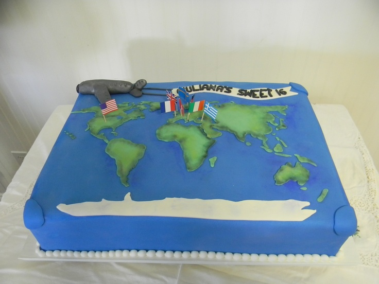 30 best images about Travel cakes on Pinterest Bon ...