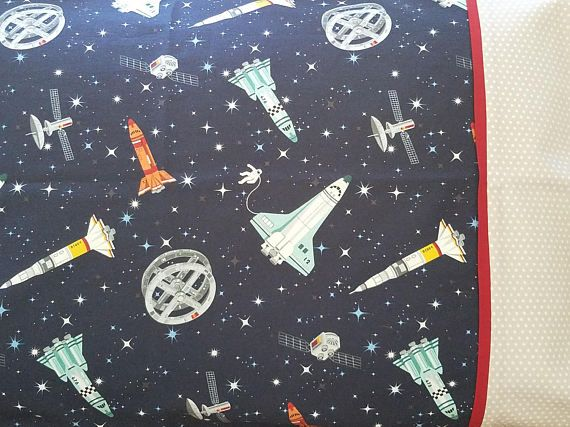 Pillowcase Kit, Space, Andover Fabrics