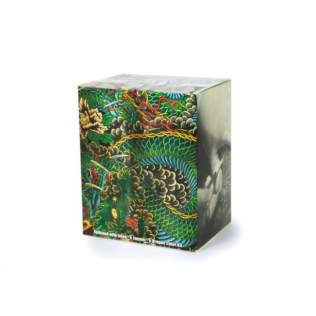 Dragon Color Tattoo Ink Set is the dragon making master! | Intenze ink