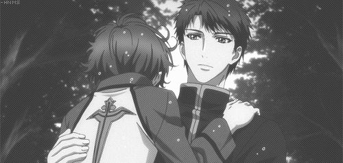 Shino Inuzuka & Sousuke Inukawa Hakkenden. So many brothers and themes f brotherhood in this story and I love it and need at least 3 more seasons of it
