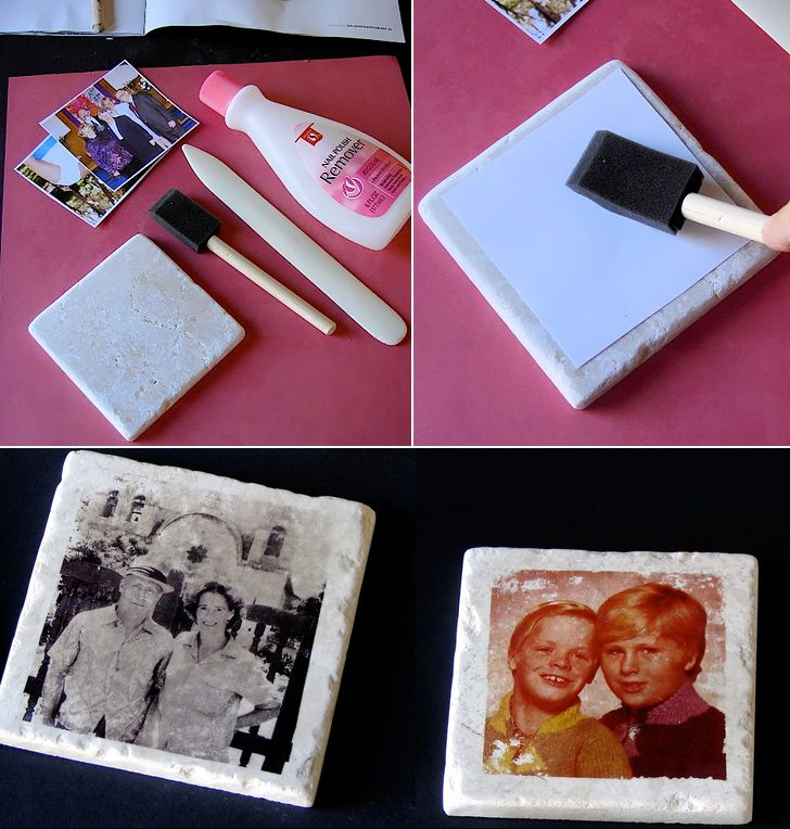 How to Make Photo Tile Coasters - DIY & Crafts - Handimania