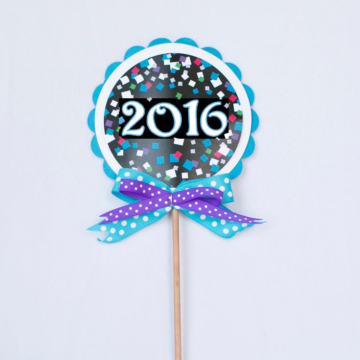 Lollipop Decoration - New Year's Eve