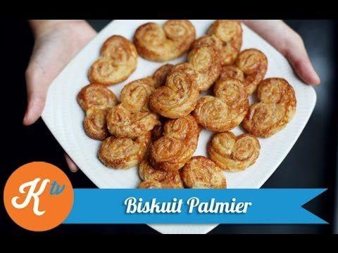Resep Biskuit Palmier (Palmiers Biscuit Recipe Video)