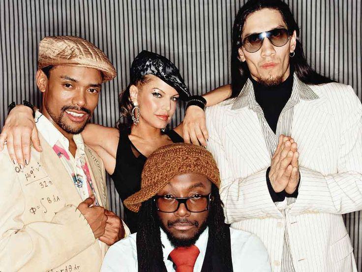 The Black Eyed Peas -  apl.de.ap (Allan Pineda), Fergie (Stacy Ann Ferguson), Taboo (Jaime Luis Gómez) and will.i.am (William James Adams)