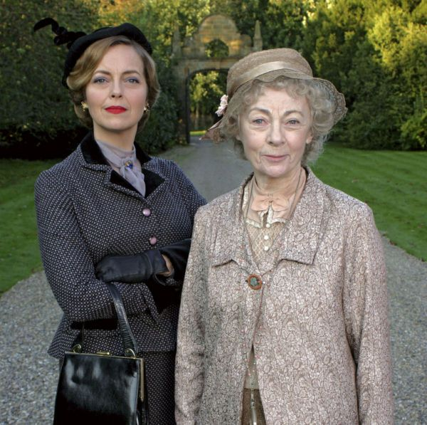 Miss Marple and Tuppence - bad story decision in this episode, but the costumes were nice. :-)
