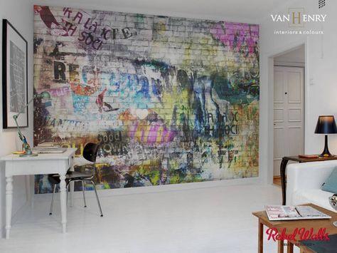 Die besten 25+ Ziegel tapete Ideen auf Pinterest Backstein - tapeten wohnzimmer ideen 2013