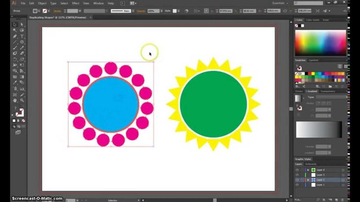 how to draw a circle in illustrator