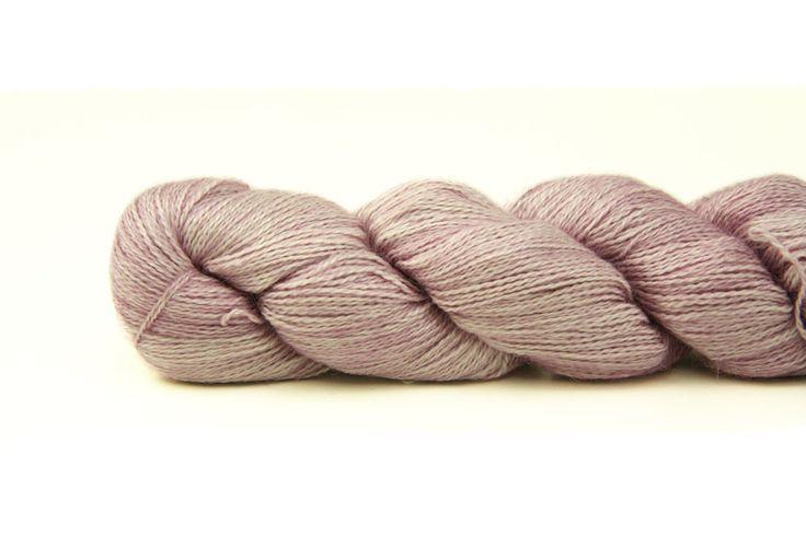 Baby Silkpaca Pink Frost 50 g | Baby Silkpaca | Malabrigo | Garnkorgen
