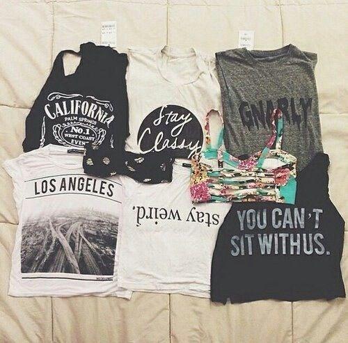 Shirts summer spring tank tops crop tops tumblr