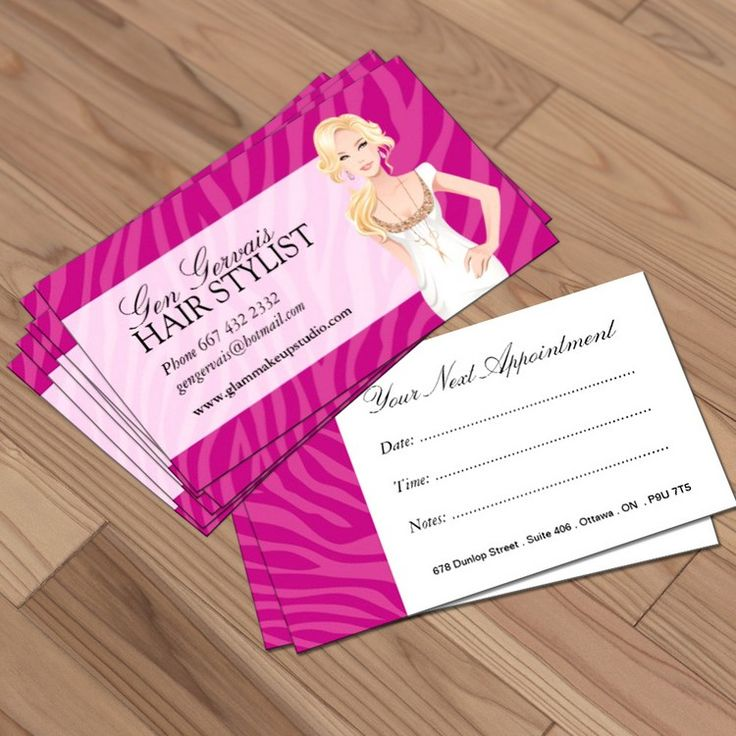 Best Hair Salon Business Card Templates Images On Pinterest - Hair salon business card template