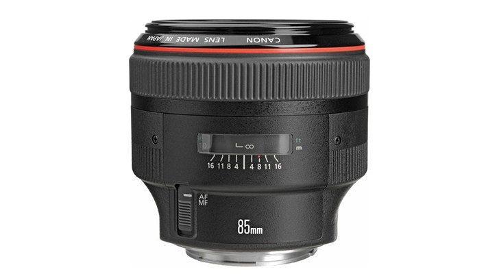 Canon sắp ra mắt lens chụp chân dung 85mm với Image Stabilization