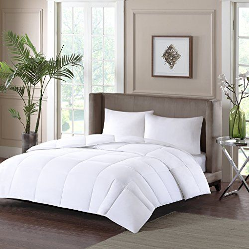 Sleep Philosophy Fit Nest Down Alternative Comforter White FullQueen *** Continue to the product at the image link.
