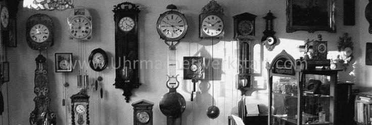 Uhrenreparatur alter und antiker Uhren