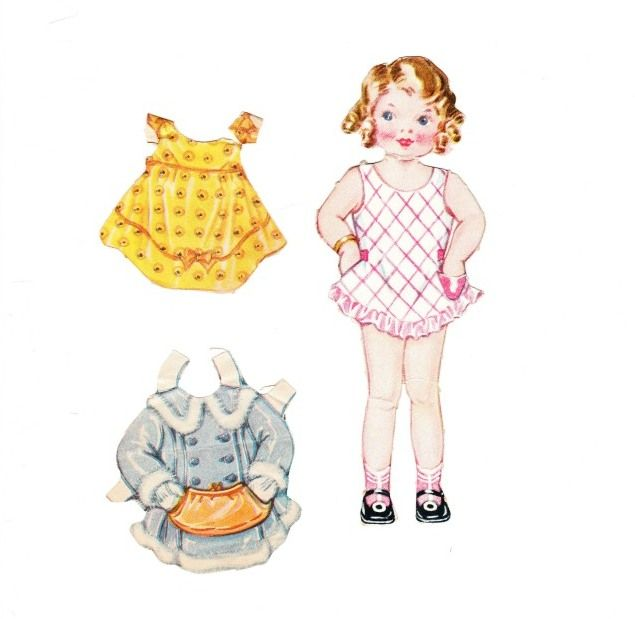 The Paper Collector: Dainty Dolls for Tiny Tots, 1946 Susan