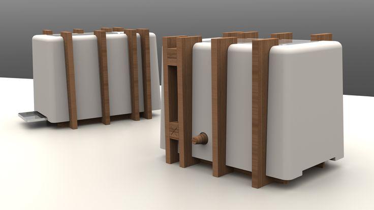 Un toaster que je ne cacherais pas