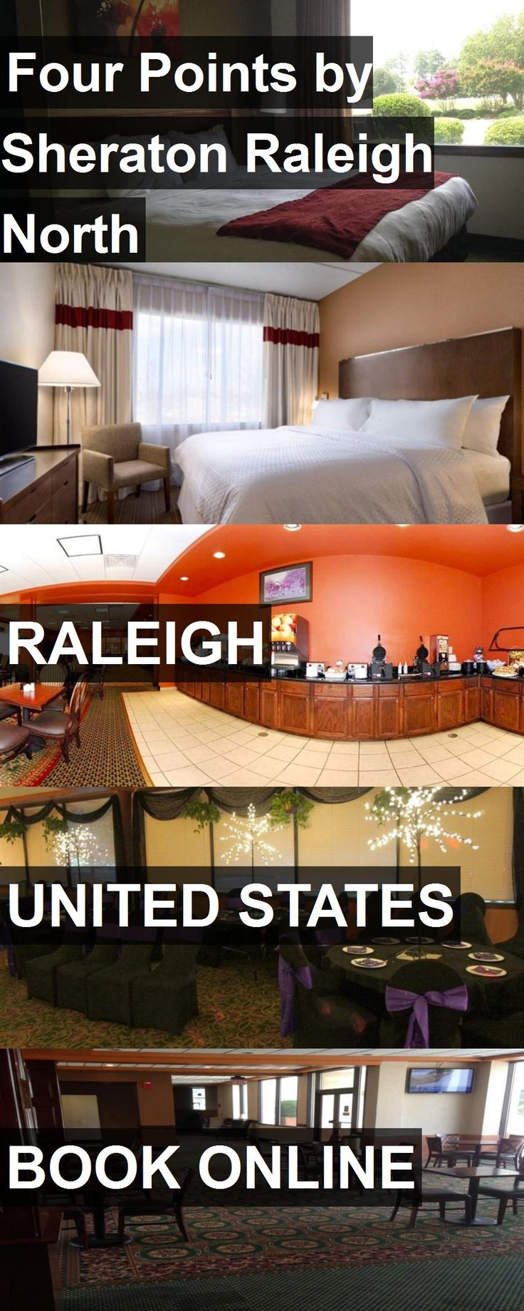 Hotel Four Points by Sheraton Raleigh North in Raleigh, United States. For more information, photos, reviews and best prices please follow the link. #UnitedStates #Raleigh #travel #vacation #hotel