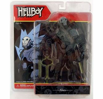 Mezco Hellboy Comic Series Alien Action Figure