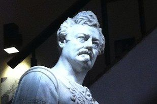 The statue was actually crafted after Philadelphia actor Edwin Forrest, but the resemblance is uncanny. | This Marble Statue Looks Exactly Like Ron Swanson