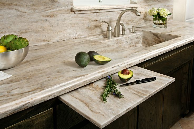 Corian® Sandalwood - DISCLAIMER: The sink shown is a custom fabricated sink. Consult your fabricator for availability.