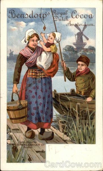 Bensdorp's Royal Dutch Cocoa - Amsterdam Advertising