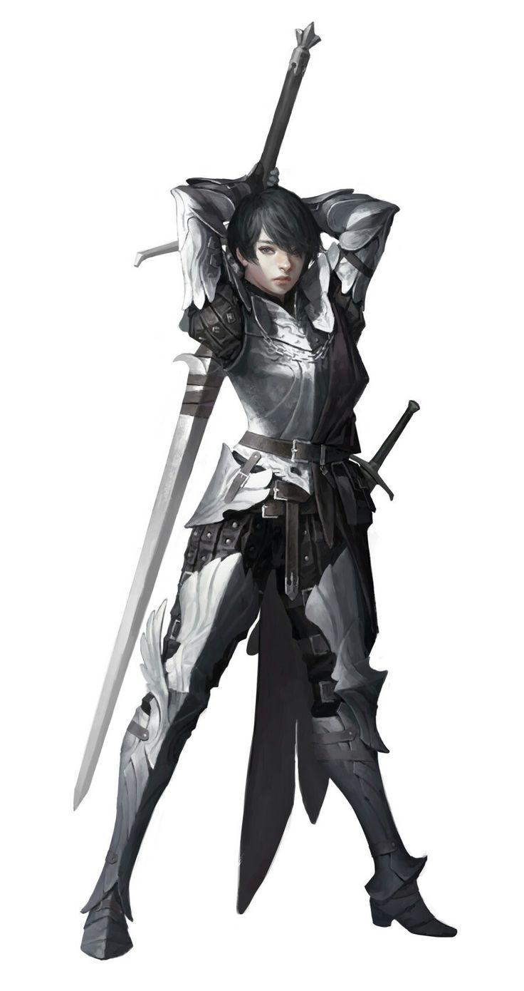 Western Female Knight