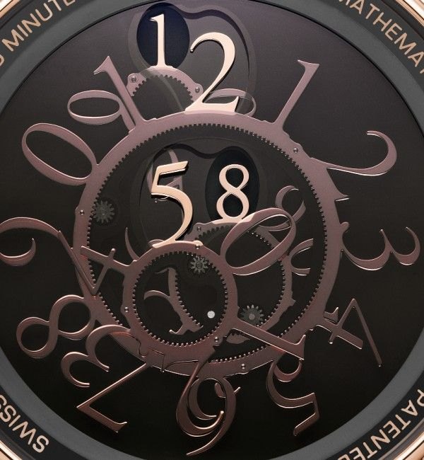 Academia MATHEMATICAL - Montres deWitt S.A. • A mysterious watch that has no hands.