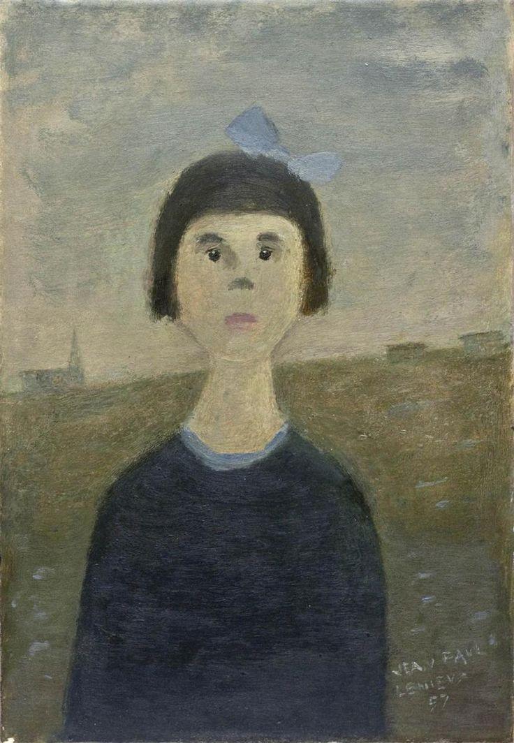 L'Orpheline, 1957, Jean Paul Lemieux