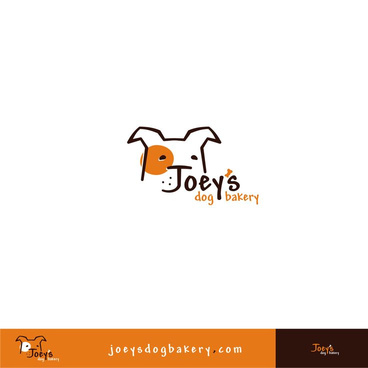 "Like the offset. Maybe sonething sinilar for JLH? - ""Joey's Dog Bakery logo by :: Scott ::"""