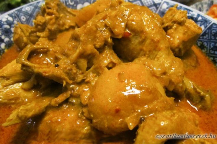 Kari Ayam - indonéz csirke curry