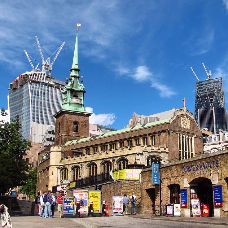 Edificios londinenses.