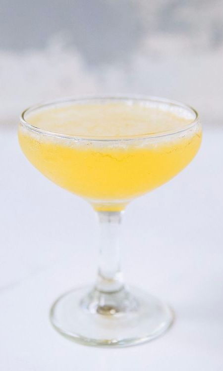"The phrase the ""bee's knees"" was used in Prohibition times as slang to mean ""the best."" This cocktail, a gin sour that's believed to have been created around that time, used lemon and honey to mask the harsh smell of bathtub gin. If your guest wants something refreshing with gin, look no further."