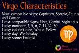 Virgo Personality traits and I