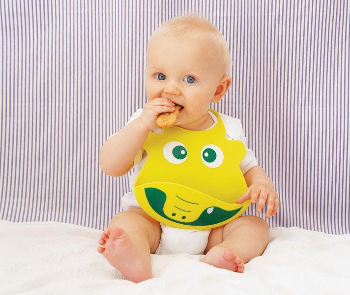 Nunu Silicone Bib - Ronnie the Frog