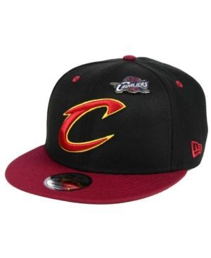 New Era Cleveland Cavaliers Pintastic 9FIFTY Snapback Cap - Red Adjustable